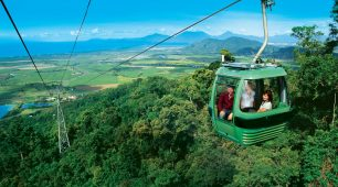 <h2>Sightseeing tours Cairns</h2> Sightseeing tours start with North Queensland's spectacular destinations.  Next, view our awesome handpicked tours and see the best of Australia. We have selected our favourite well-known locations as well as some that you may have never heard of.  While you are in North Queensland, there are some must-dos, starting with the Great Barrier Reef.  Second, on the list is the magnificent Daintree Rainforest marvel at the giant trees and lush rainforest.  Then take in the views from the Cairns Skyrail as it makes its way across the top of the rainforest canopy.  Third, take in the rolling hills and crater lakes of the Atherton Tablelands.  Fourth on our list is between 600 and 1000 caves at Chillagoe.  Fifth on our list is a visit to the Undara Lava tubes to explore this wonderful experience.