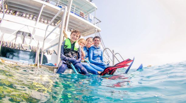 Family time is fun time on Reef Encounter