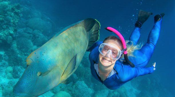 Snorkeling with Frank
